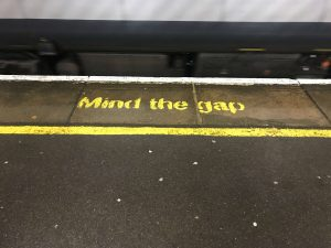 Daily lesson 12 – Mind the gap