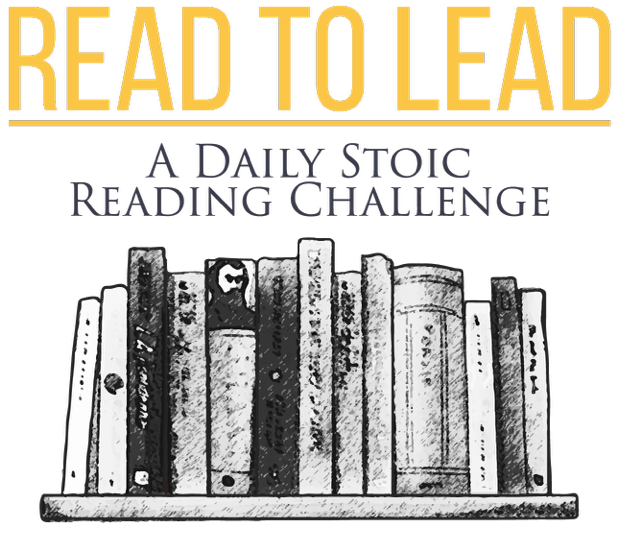 Daily stoic challenge read to lead